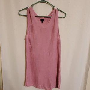 Talbots   Pink Knit Tank